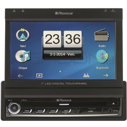 Autoradio leitor DVD 7 VM044 SD de nav. inclusa