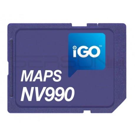 Cartografia da europa SD-CARD2GB p VM032