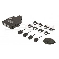 Kit sensores traseiro 4 cap. dig