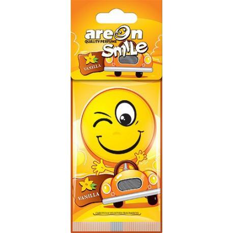 Aroma em cartao Areon Smile Baunilha emoticon